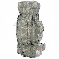 Extreme Pak Digital Camo Water-Repellent, Heavy-Duty Mountaineer's Backpack
