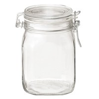 Soda Glass Airtight Container 1000ml