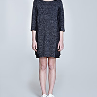 Mixed Marl Sweatshirt Dress