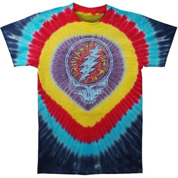 Grateful Dead Men's  Raindrops Tie Dye T-shirt Multi