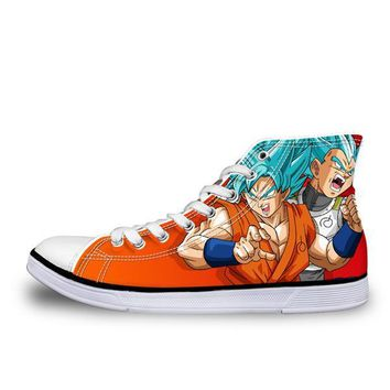 Dragon Ball Z High Top Shoes Goku Style 12