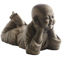 Golden Monk Day Dreaming