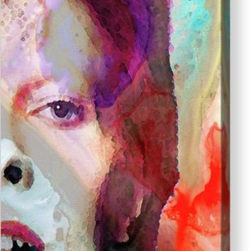 Full Color - David Bowie Tribute Acrylic Print