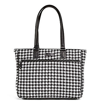 Vera Bradley Work Tote - Midnight Houndstooth