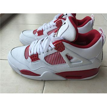 Air Jordan retro 4 IV Alternate 89 Men Basketball shoes retro 4s sports shoes Athletic sneakers