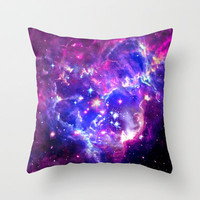 Galaxy. Throw Pillow by Matt Borchert