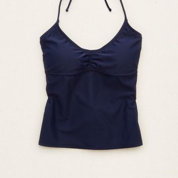 Aerie Women's Scoop Tankini Top (Royal Navy)