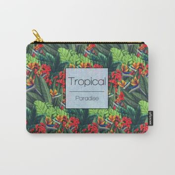 Tropics Paradise Carry-All Pouch by Ben Geiger