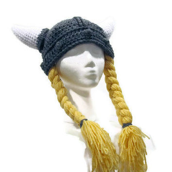 Women's Viking Helmet - Hat - Women's - Girl's - Costume