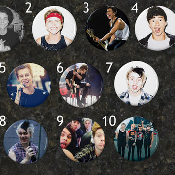 Five Seconds of Summer Buttons