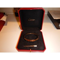 Cartier Yellow gold love bracelet Box-Papers- Dont Buy A fake