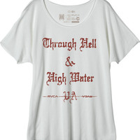 Hell & High Water T-Shirt | RVCA
