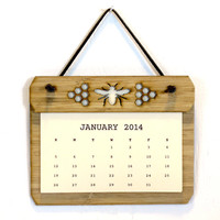 Honey Bee Wall Calendar