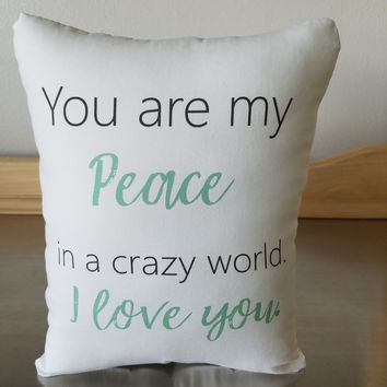 Best gift for husband pillow birthday gift cotton throw pillow