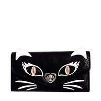 New Look | New Look Top Cat Flapover Wallet at ASOS