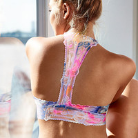 Tropical Lace Push-Up Bralette - PINK - Victoria's Secret