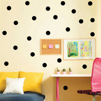 2016 New Hot Wall Sticker Raindrop Feather Spots Triangular Shape Decals Wallpaper Vinyls Home Decor For Kid Bedroom Stickers
