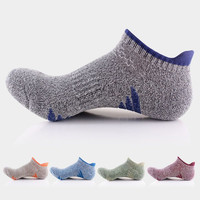 Hot Sales Autumn Winter Men Thick Cashmere Wool Socks Breathable Creative thick terry compression socks Man's Warm boat Socks