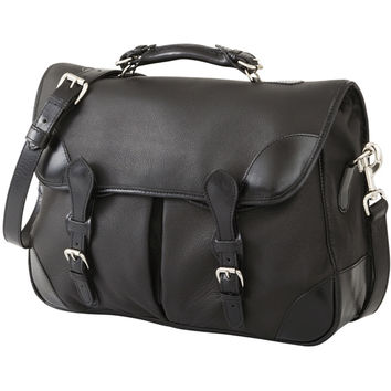 Deerskin Angler's Bag - Black