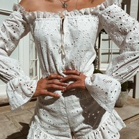 Buy Our Angel Playsuit in White Online Today! - Tiger Mist