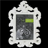 http://shop.hobbylobby.com/products/5-x-7-white-bright-glossy-baroque-resin-frame-828756/