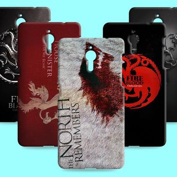 Ice and Fire Cover Relief Shell For LeEco 1 X600 1S X500 Cool Game of Thrones Phone Cases For Letv 1 pro X800