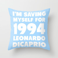 1994 Leo Throw Pillow by LookHUMAN
