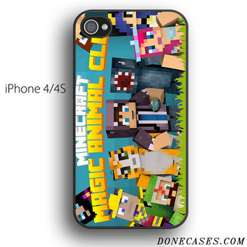 mr stampy magic animal club case for iPhone 4[S]