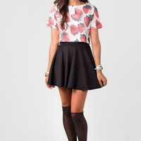 Strawberry Fields Forever Crop Top