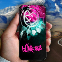 Blink 182 Logo - Print on hard plastic case for iPhone case. Select an option
