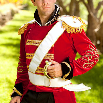 Prince Charming Toy Soldier Men's Adult Costume