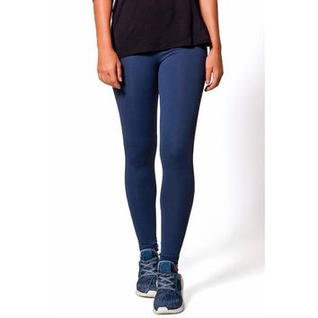 Navy Basic Legging