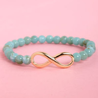 The Neverending Story Turquoise Bead Bracelet