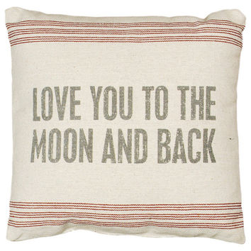 To The Moon Pillow