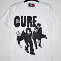 The Cure Robert Smith Simon Gallup Reeves Gabrels by Parleywingcal