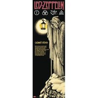 Led Zeppelin Slim Print Poster