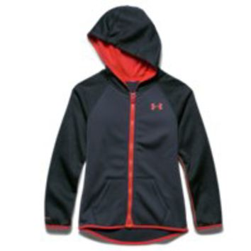 Under Armour Girls' UA Storm Armour Fleece Full Zip Hoodie