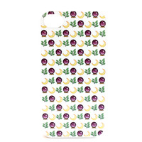 Mystical Emoji Print Phone Case