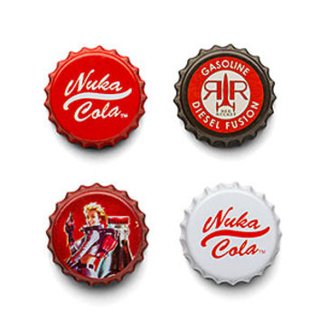 Fallout 4 Nuka Cola Fridge Magnets