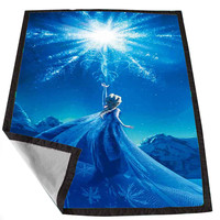 Disney Frozen Elsa 3 8763ce43-fe6c-4103-a994-e29772ff3970 for Kids Blanket, Fleece Blanket Cute and Awesome Blanket for your bedding, Blanket fleece *02*
