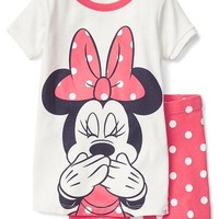 babyGap | Disney Baby Minnie Mouse short sleep set | Gap