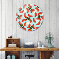 «Caprese», Limited Edition Disk Print by Uma Gokhale - From $99 - Curioos