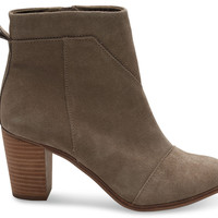 Black Suede Women's Lunata Booties