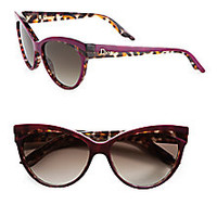 Dior - Plastic Panther Cat's-Eye Sunglasses - Saks Fifth Avenue Mobile