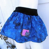 Nyan Cat tutu Skirt shirt your size Meme costume stars Space Galaxy pop tart