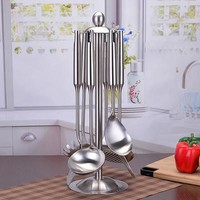 7pcs/set Cutlery Stainless Cooking Utensils