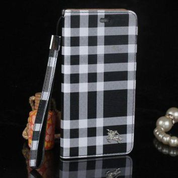 CREYUP0 burberry fashion print iphone phone cover case for iphone 6 6s 6plus 6s plus 7 7plus3