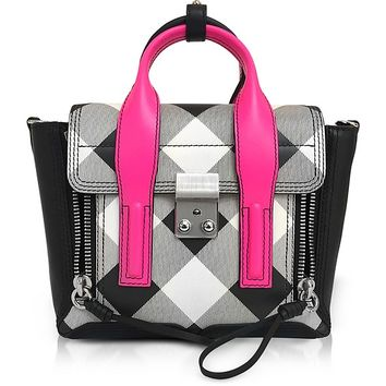 3.1 Phillip Lim Pashli Gingham Mini Satchel Bag