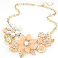 Bright Flower Necklace