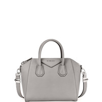 Antigona Sugar Small Satchel Bag, Pearl Gray - Givenchy